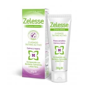 Zelesse crema íntima 30 gr con Bardana, Aloe y Camomila