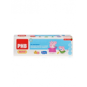 PHB Petit gel dental Peppa Pig 75 ml con flúor