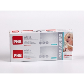 PHB White DUPLO pasta de dientes blanqueadora 2x100 ml