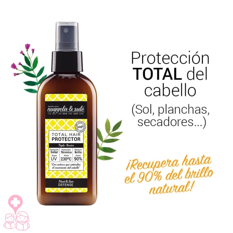 Nuggela & Sulé Protector Total Capilar 125 ml filtros y