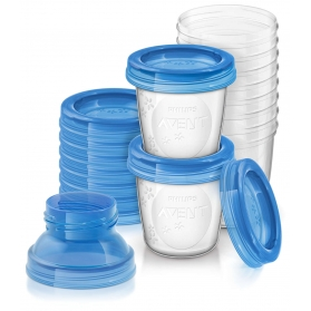 Avent Recipientes para leche materna 10 uds 180 mlSCF618/10