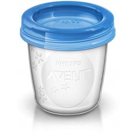 Avent Recipientes para leche materna 5 uds 180 ml SCF619/05
