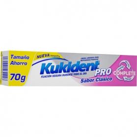 Kukident Pro Clásico crema adhesiva para dentaduras 70 gr