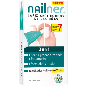 Nailner lápiz anti-hongos 2 en 1 4 ml
