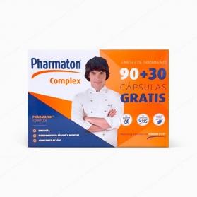 Pharmaton Complex PACK 4 meses 90+30 cápsulas