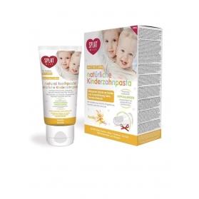 SPLAT Baby pasta dental Natural vainilla 40ml 0-3 años
