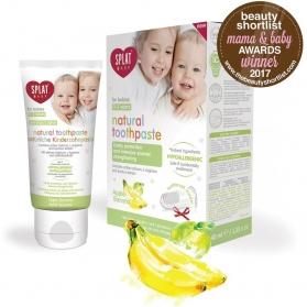 SPLAT Baby pasta dental Natural plátano-manzana 40ml 0-3 años