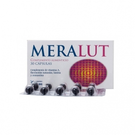 Meralut 30 cápsulas con Vitaminas, Tagetes y Vaccinium