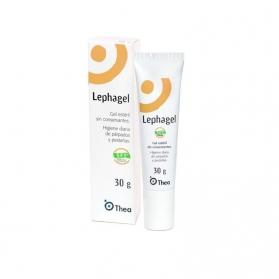 Lephagel gel oftálmico para limpieza 30 gr