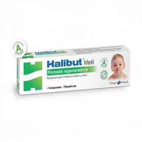 Halibut Infantil pomada regeneradora con Zinc y Lanolina 45 gr