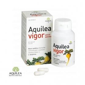 Aquilea Vigor 60 cápsulas con Maca Andina y Arginina