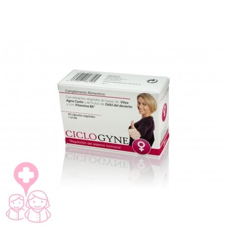 Ciclogyne menstruación 30 cápsulas con Sauzgatillo y Dátil del desierto