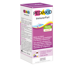 PediaKid Immuno-fort jarabe para defensas 250 ml