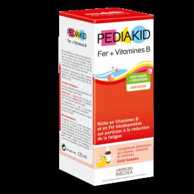 PediaKid Hierro y Vitaminas B energía a tope 125 ml