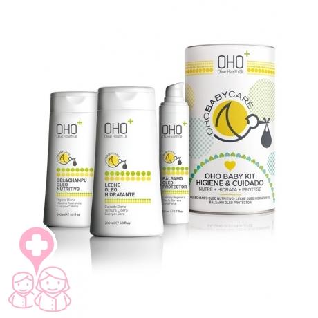 OHO Baby Care kit Higiene y cuidado leche+gel+bálsamo