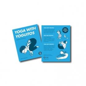 Yoguitos juego de cartas de Yoga equilibrio y flexibilidad