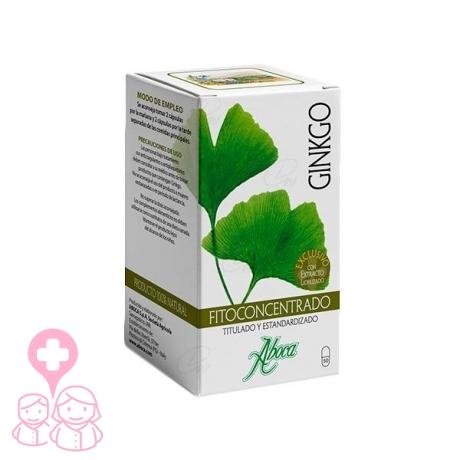Aboca Fitoconcentrado Gingko 500 mg 50 cápsulas