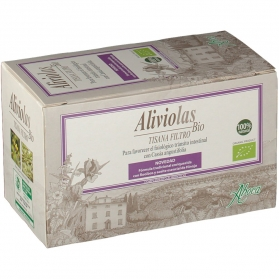 Aboca Aliviolas BIO Tisana laxante natural 20 bolsas
