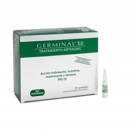 Germinal 3.0 Antiaging SPF 15 tratamiento global 30 ampollas