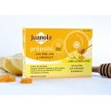 Juanola con Própolis, Miel y vitamina C calmante de garganta 24 pastillas