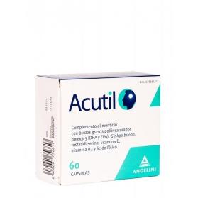 Acutil Omega-3 y Gingko Biloba 60 cápsulas