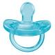 Chicco Physio Soft chupete de silicona azul 0-6M 2 uds