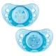 Chicco Physio Air chupete de látex anatómico azul +0M 2 uds