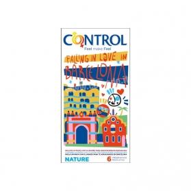 Control Nature Falling in Love edición limitada Ciudades de Europa 6 preservativos