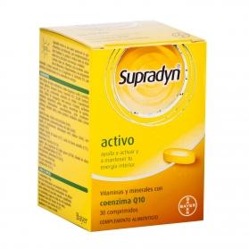 Supradyn Activo 30 comprimidos multivitamínico con Q10