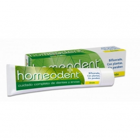 Boiron Homeodent Bifluorado pasta dental sabor limón 75 ml