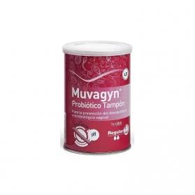 Muvagyn Probiótico tampón vaginal Regular con aplicador 9uds
