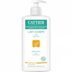 Cattier leche corporal regeneradora 500 ml CAT060 con Papaya y Té Blanco