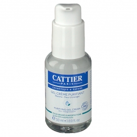 Cattier gel-crema purificante 50 ml CAT036 con Menta y Azahar