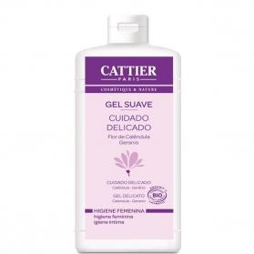 Cattier gel suave Higiene íntima delicada 200 ml CAT024 con Geranio y Aciano
