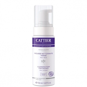 Cattier espuma limpiadora 150 ml CAT045 con Rosa y Aciano
