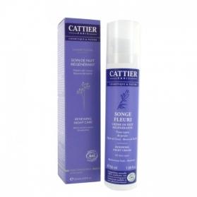 Cattier crema regeneradora de noche 50 ml CAT041 con Jojoba y Grosella