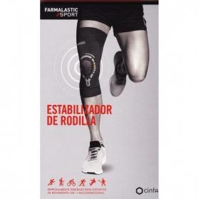 Farmalastic Sport estabilizador de rodilla talla M dolor articular