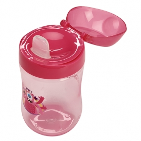 Dr Brown´s vaso de aprendizaje boquilla blanda de silicona +9M 270 ml
