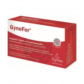 Gynefer hierro microencapsulado 30 cápsulas
