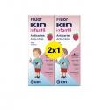 Fluor kin infantil anticaries duplo colutorio 2x500 ml