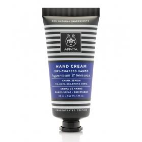 Apivita crema Concentrada para manos secas con Híperico y Cera de Abejas 50 ml