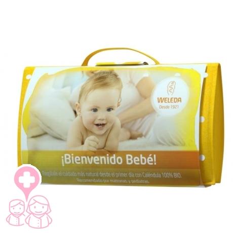 Weleda ¡ BIENVENIDO BEBÉ ! set para recién nacido con Neceser de Regalo