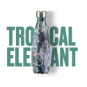 Chilly´s bottle tropical edition elefante botella termo acero inoxidable 500 ml