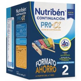 Nutribén Continuación Pro Alfa leche infantil 1200 gr