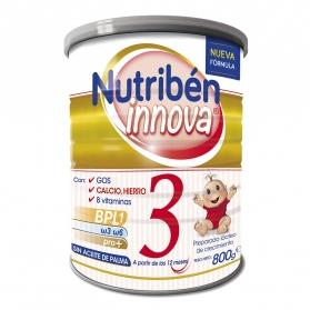 Nutribén Innova 3 Crecimiento leche infantil 800 gr
