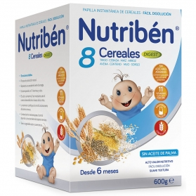 Nutribén papilla 8 cereales...
