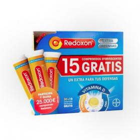 Redoxon Extra Defensas TRIPLO 45 comprimidos efervescentes