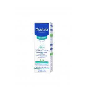 Mustela stelatopia crema facial emoliente piel atópica 40 ml