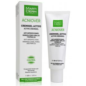 Martiderm acniover cremigel activo 40 ml con salicílico y bioactivos