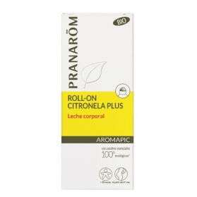 Pranarom Aromapic leche corporal anti-mosquitos en roll-on 75ml